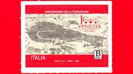 Nuovo - MNH - ITALIA - 2021 - 1600 Anni Della Fondazione Di Venezia – Logo - B Zona 1 - 2011-...: Mint/hinged