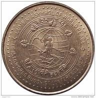 WORLD BUDDHIST CONFERENCE Commemorative COIN NEPAL 1986 UNC - Nepal