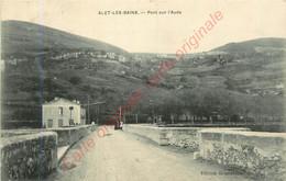 11. ALET LES BAINS .  Pont Sur L'Aube . - Other Municipalities