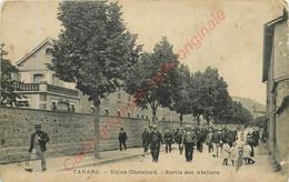 69.  TARARE .  Usine Chatelard .  Sortie Des Ateliers . - Tarare