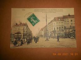 CPA - Lille - Carrefour à L'intersection Des Rues D'arras,de Douai,solférino Be - Lille