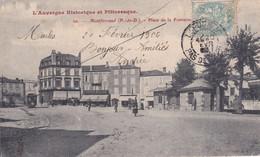 Clermont Ferrand (Montferrand) Place De La Fontaine - Clermont Ferrand