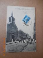 CPA - Lille - Rue Gantois - église St Joseph Be - Lille