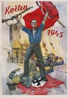 Praha  Mai 1945 , Swastika , Super Philatelie - War 1939-45