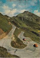 CARTOLINA  STRADA PASSO GIOVO M.2094,BOLZANO,TRENTINO ALTO ADIGE,JAUFENPASSTRASSE,BELLA ITALIA,MEMORIA,VIAGGIATA 1970 - Bolzano (Bozen)