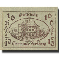 Billet, Autriche, Puchberg, 10 Heller, Manoir 1921-12-31, SPL Mehl:FS 785a - Austria
