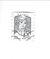 Marianne De Ciappa Et Kawena Adéhsif N° 850 Oblitéré 2013 - Adhesive Stamps