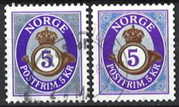 Norwegen Norway 2014/2018. Mi.Nr. 1864 A + 1864C, Used O - Gebruikt