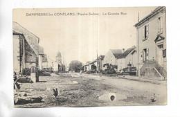 70 - DAMPIERRE-les-CONFLANS ( Haute-Saône ) - La Grande Rue. - Other Municipalities