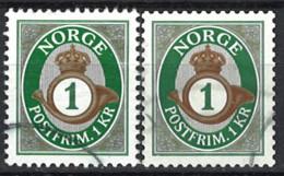 Norwegen Norway 2015/2018. Mi.Nr. 1873 A + 1873C, Used O - Gebruikt