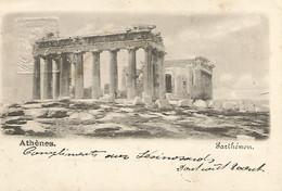 GREECE - POSTAL STATIONERY - ATHENES -  PARTHENON - 1900 - Griechenland