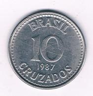 10 CRUZADOS 1987  BRAZILIE /7226/ - Brazil