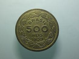 Brazil 500 Reis 1939 - Brazil
