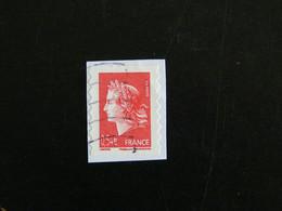 FRANCE YT 4109 ET YT ADHESIF 139 OBLITERE - MARIANNE DE CHEFFER - Adhesive Stamps