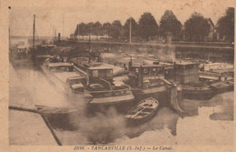76 - TANCARVILLE - Le Canal - Tancarville