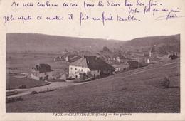 Vaux Et Chantegrue - Vue Générale - Non Classificati