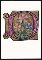 CPSM / CPM 10.5 X 15 Lettre De L'alphabet D Initiale Peinte Missel De Jean De Martius 1465-1466. Département Des * - Other