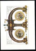 CPSM / CPM 10.5 X 15 Lettre De L'alphabet E Initiale Peinte Seconde Bible De Charles Le Chauve IX° S. Département Des * - Other