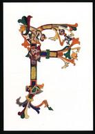CPSM / CPM 10.5 X 15 Lettre De L'alphabet F Initiale Peinte Lectionnaire De Montmajour Provence XI°-XII° S. Département* - Other