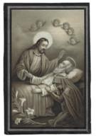 AUGUSTINUS HEREMANS WED ELISABETH DOCKX & JOANNA C VINGERHOETS ° PUTTE 1824 + SINT-KATELIJNE-WAVER 1894 - Devotieprenten