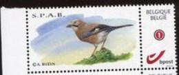 Belgie Birds SPAB Buzin Gepersonaliseerde Zegel Duostamp MNH - Personalisierte Briefmarken