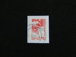 FRANCE YT 4198 ET YT ADHESIF 176 OBLITERE - VALEURS DE L'EUROPE DEMOCRATIE - Adhesive Stamps