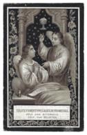 CONSTANTIA MORIS ° PUTTE 1831 + SINT-KATELIJNE-WAVER 1895 - Devotieprenten