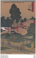ASIE FORMOSE COMPLIMENTS OF FORMOSA OOLONG TEA (NETSU GONGEN BY HIROSHIGE) - Formosa