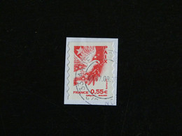 FRANCE YT 4200 ET YT ADHESIF 178 OBLITERE - VALEURS DE L'EUROPE PAIX COLOMBE - Adhesive Stamps