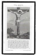 HENRI D'OOGE EPOUX JEANNE POSSEEL + ANVERS ( ANTWERPEN ) 1890 66 ANS - Devotieprenten