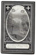 MARIA ELISABETH TORFS WED JOSEPHUS VERBIST ° ONZE-LIEVE-VROUW-WAVER ( SINT-KATELIJNE-WAVER ) 1815 + 1898 - Devotieprenten