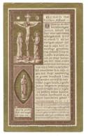 MELANIA BEAUFORT WED IVO PIETERS ° MEIGEM ( DEINZE ) 1823 + DENTERGEM 1894 - Devotieprenten