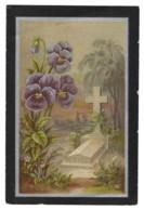 MARIE THERESE  EHLERS EPOUSE PIERRE DE LOOSE ° OSTENDE ( OOSTENDE ) 1831 + 1896 - Devotieprenten