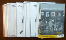 Österreich/Austria/Oostenrijk/Francobolli Austriaci/Timbres-poste Autrichiens Yearsets 1984-2001 - Verzamelingen (in Albums)
