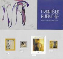 Blocs Souvenir Neuf N°144.  Frantisek KUPKA  (1871-1957) Peintre Tchèque...G782 - Souvenir Blocks & Sheetlets