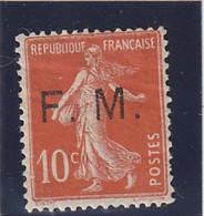 ///    FRANCE  ///    Franchise Militaire - N° 5 * Côte 2€ - Franchise Stamps