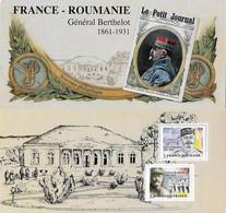 Blocs Souvenir Neuf N°150.  Henri BERTHELOT (1861-1931) Général Français...G883 - Souvenir Blocks & Sheetlets