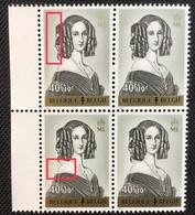 Belgique OCB 1234-V** Griffes. ML.MNH.T.B ! - Curiosités