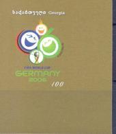 2005. Georgia, World Football Cup Germany'2006, ERROR, 1v IMPERFORATED, Mint/** - Géorgie