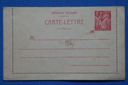AB6 FRANCE  BELLE  CARTELETTRE 1930 ++  + NON VOYAGEE - Cartas