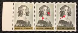 Belgique OCB 1234-V** Point Beauté + Griffes. ML.MNH.T.B ! - Curiosités