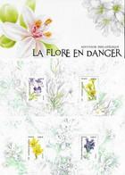 Blocs Souvenir Neuf N°155/155A.  Flore En Danger...G889 - Souvenir Blocks & Sheetlets