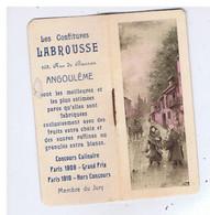Calendrier De Poche - Confitures LABROUSSE - Format 3,50 / 8,50 ( 1925 ) - Small : 1921-40