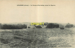 02 Craonne, La Ferme D'Hurtebise Avant La Guerre, Carte Pas Courante, Beau Document Historique - Craonne