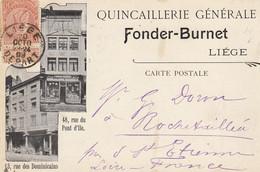 LIEGE - Quincaillerie  Générale FONDER BURNET - Other