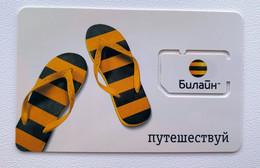 RUSSIA - Beeline Travel - MINT GSM SIM Phone Card - Rusia