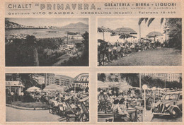 """Cartolina - Postcard / Non Viaggiata - Unsent /  Napoli -  Mergellina Chalet """" Primavera """" - Napoli (Naples)"""