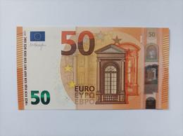 50 EURO ITALIA(SC) S009F3, DRAGHI, UNCIRCULATED - 50 Euro