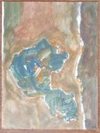 Peinture (24cm X 32cm) Acrylique Sur Papier - Signé Turco 2020 (1) - Acrilici