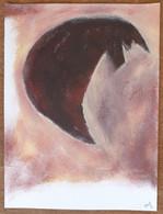 Peinture (24cm X 32cm) Acrylique Sur Papier - Signé Turco 2020 (2) - Acrilici